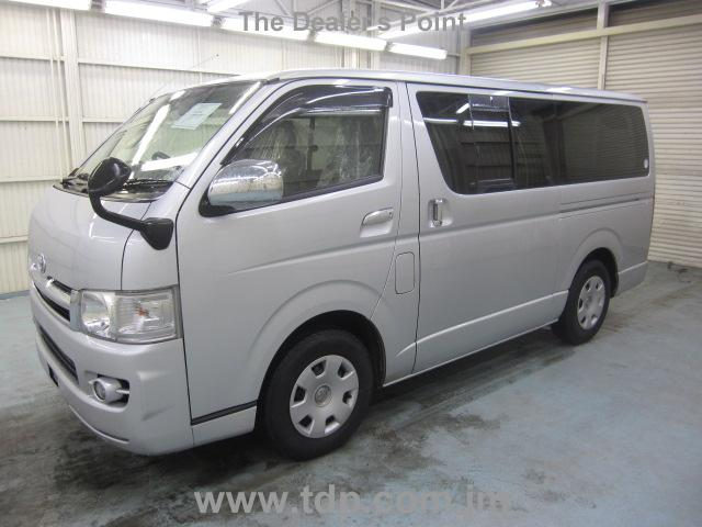 Used Toyota Regiusace 2007 Jun Silver For Sale | Vehicle No