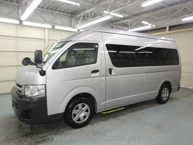 Used Toyota Hiace Bus 2010 Nov Silver For Sale | Vehicle No
